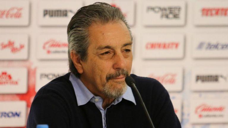 Tomás Boy, en conferencia de prensa