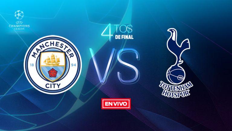 EN VIVO y EN DIRECTO: Manchester City vs Tottenham