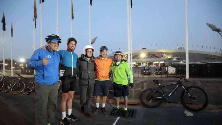 La gente que midió la ruta del Maratón de la CDMX