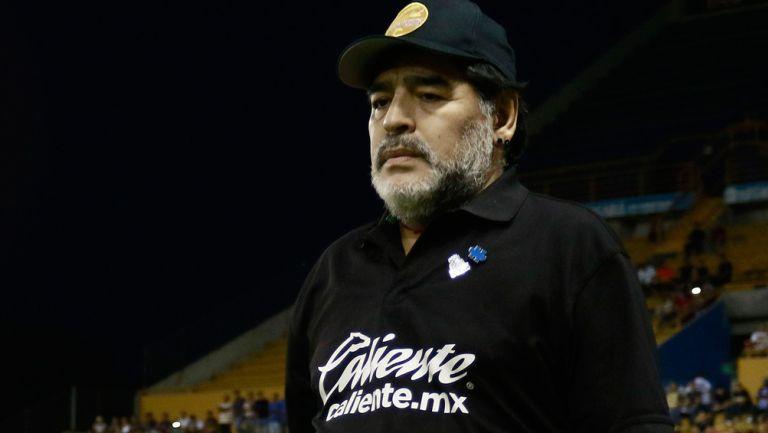 Maradona, previo a un duelo de Liguilla de Dorados
