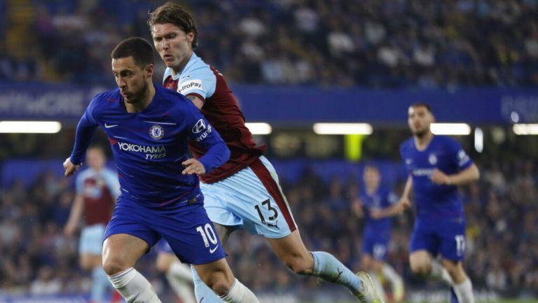 Hazard se mueve rápidamente en partido de la Premier League