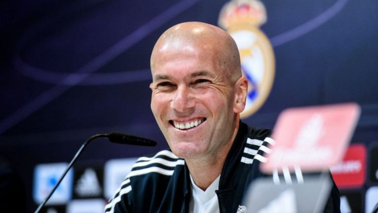 Zinedine Zidane habla en conferencia de prensa