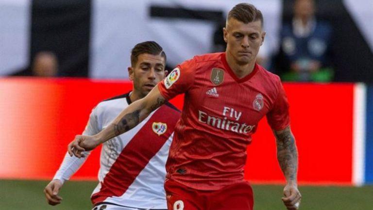 Kroos, durante el partido contra Rayo Vallecano