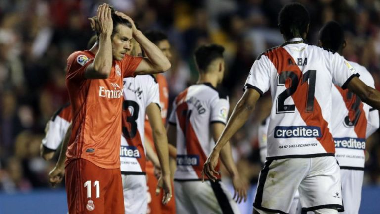 Bale durante el partido contra Rayo Vallecano
