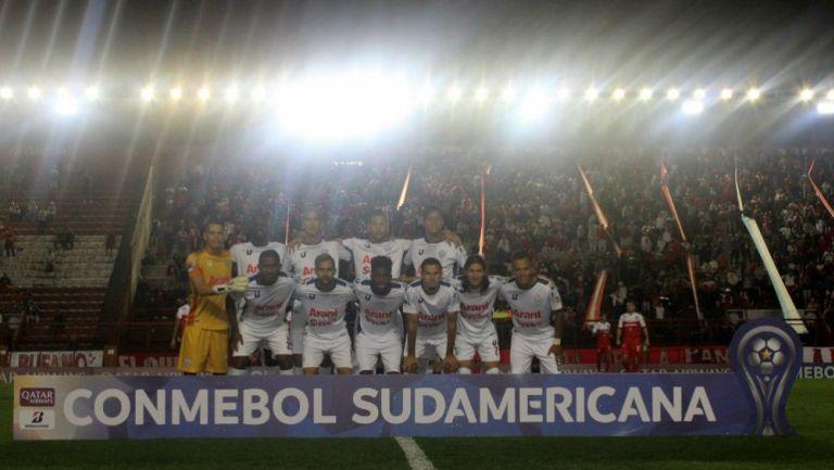 Once de Estudiantes de Mérida para juego vs Argentinos Juniors