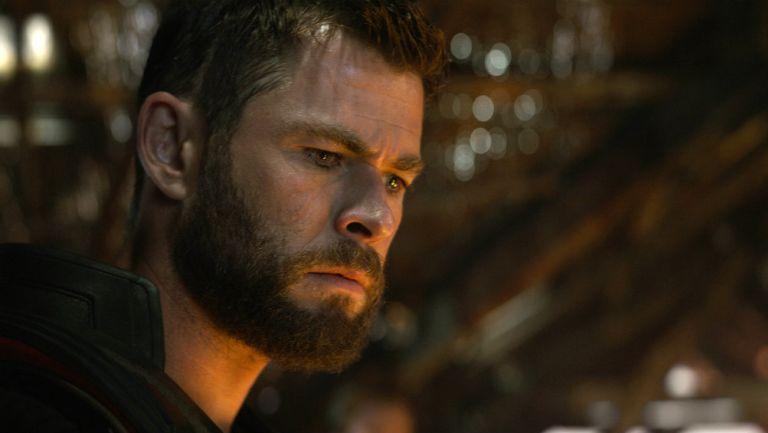 Thor, interpretado por Chris Hemsworth en una escena de 'Endgame'