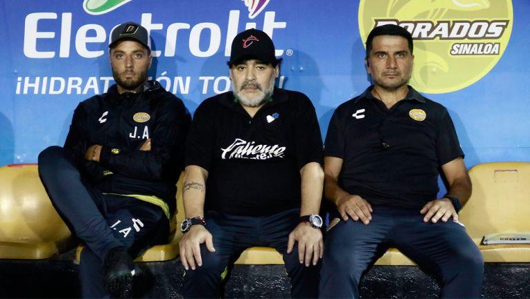 Maradona analiza el juego de Dorados vs Atlético de San Luis