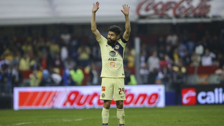 Oribe Peralta agradece el apoyo de la afición del América