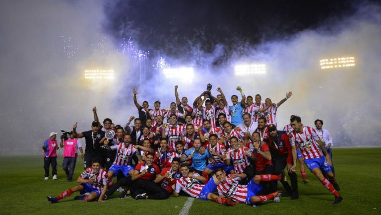 Atlético de San Luis festeja título de Ascenso