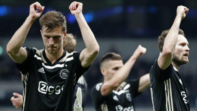 Ajax celebra victoria de Ida contra Tottenham