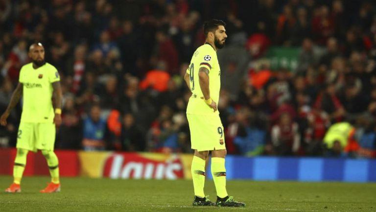 Suárez tras la eliminación de Champions League