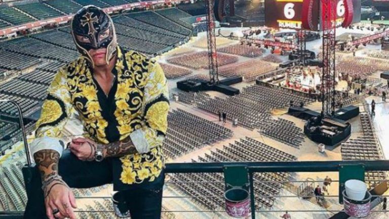Rey Mysterio previo al Royal Rumble