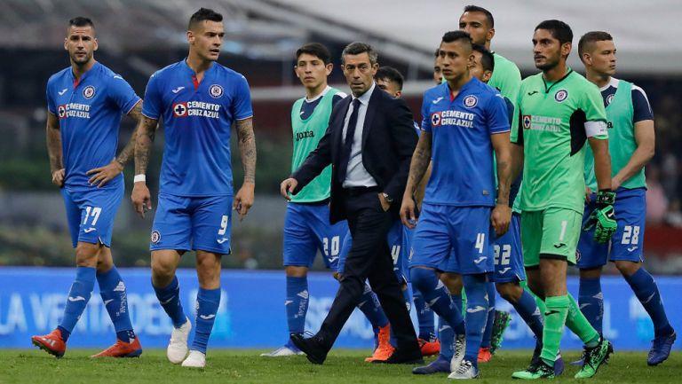 Cruz Azul abandona el Azteca tras quedar eliminados de Liguilla