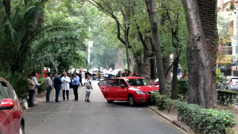Reportan balacera en la Condesa, alcaldía Cuauhtémoc