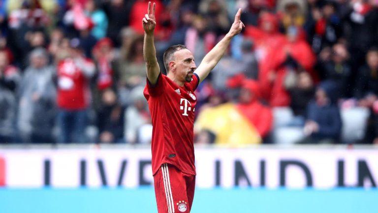 Ribery se despide de la afición del Bayern