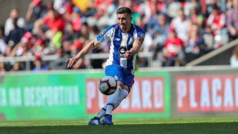 Herrera, en un partido del Porto