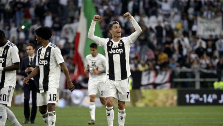 Cristiano festeja victoria de Juventus