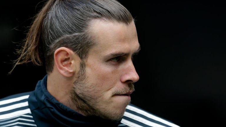 Gareth Bale previo a un juego con el Real Madrid