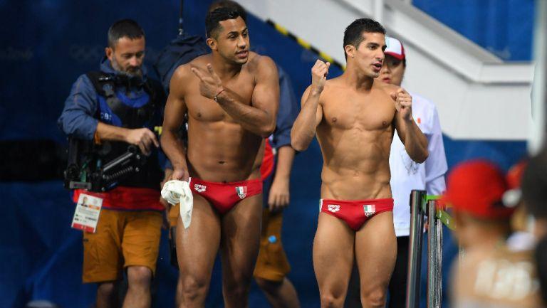 Rommel Pacheco y Jahir Ocampo en los Juegos Olímpicos de Río
