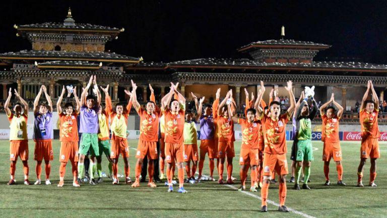 Selección de Bután agradece a su afición