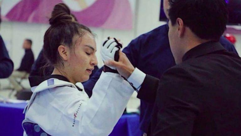 Melanie Martínez durante una competencia