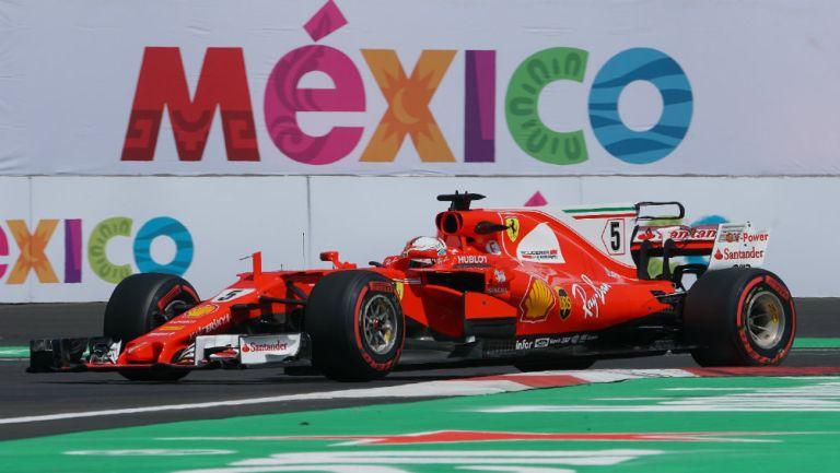 Una monoplaza durante en GP de México