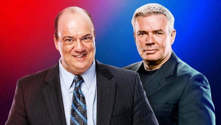Paul Heyman y Eric Bischoff como encargados de las marcas