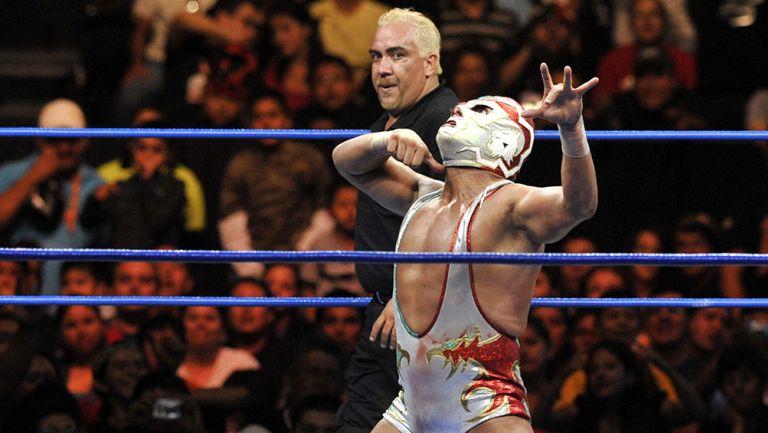 Dr. Wagner Jr. durante una lucha en Triple A