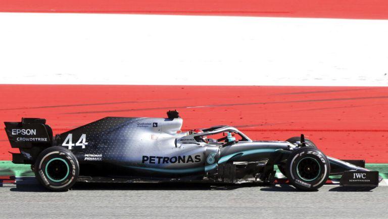 Lewis Hamilton durante el Gran Premio de Austria