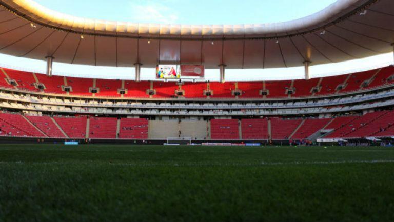Estadio Akron, previo a un duelo de Chivas