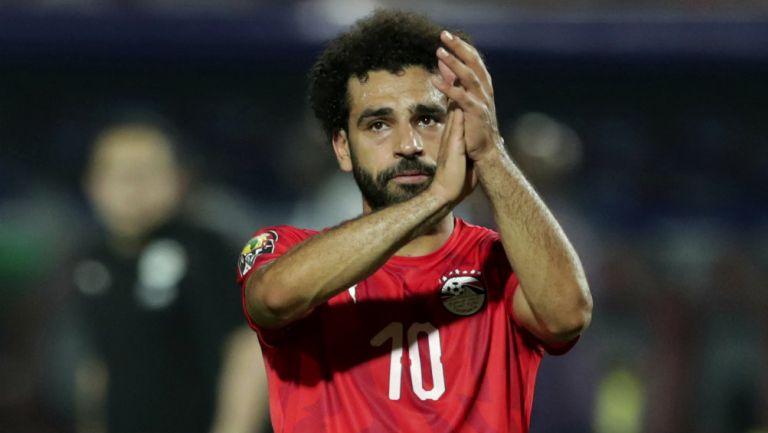 Mohamed Salah agradece a la afición tras derrota ante Sudáfrica