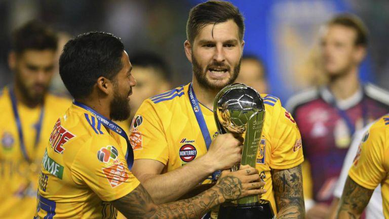 Tigres festeja el título del Clausura 2019