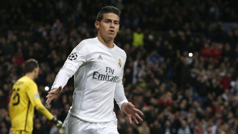 James Rodríguez llegó al Real Madrid después de que brilló en el Mundial de Brasil 2014
