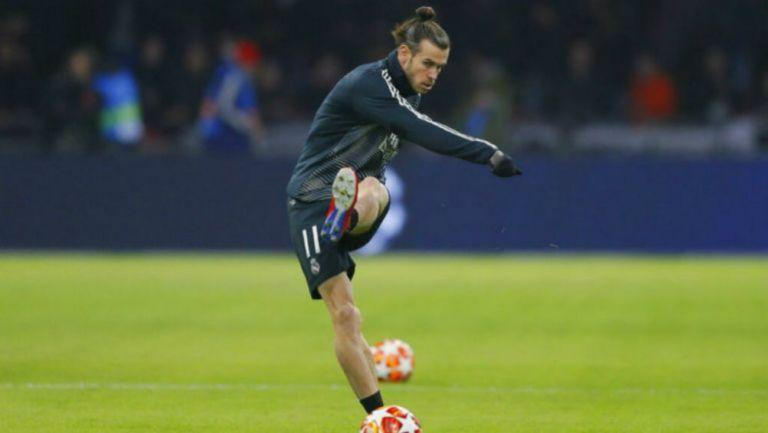 Bale en un entrenamiento del Real Madrid