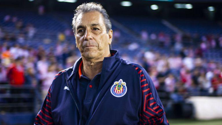 Tomás Boy durante un partido con Chivas