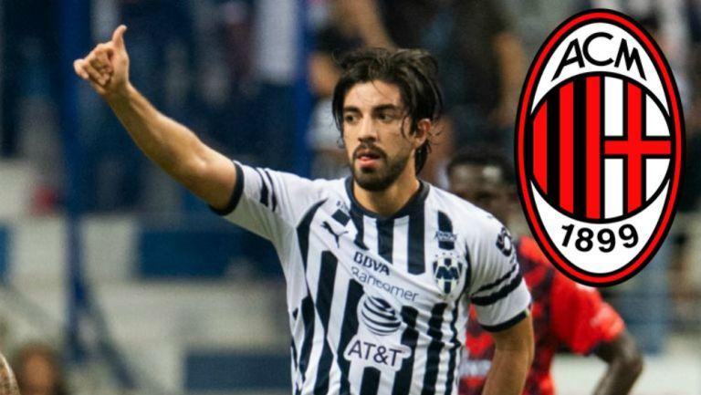 Pizarro, en festejo de gol con Rayados