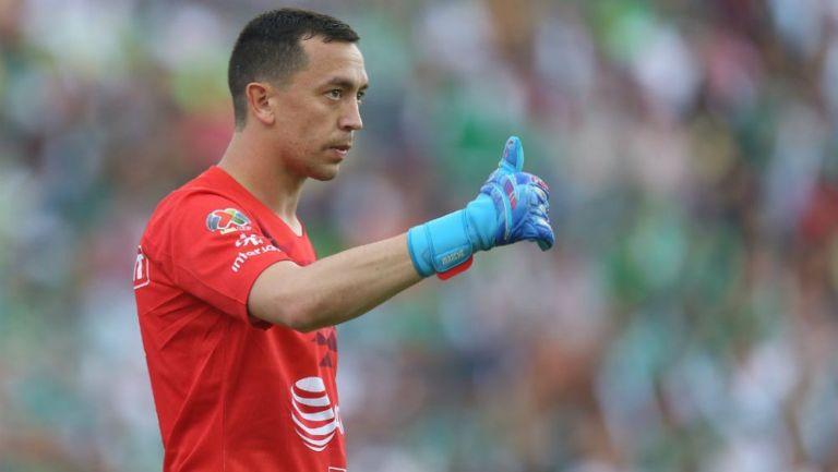 Agustín Marchesín tras un partido de América