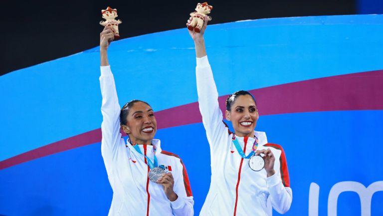 Nuria Diosdado y Joana Jiménez presumen su Plata en Lima 2019
