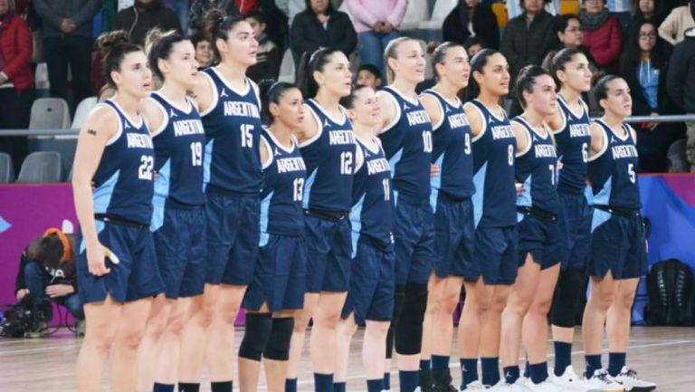 La Selección Femenil Argentina de baloncesto