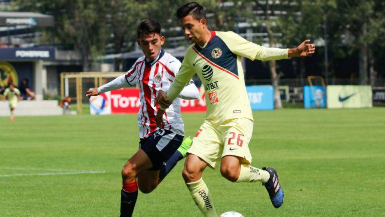 Ulises Torres cuando jugaba en América