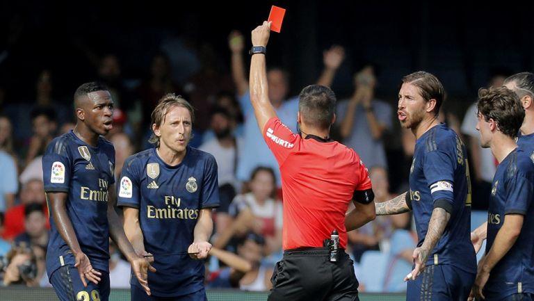 Sergio Ramos avaló expulsión de Luka Modric