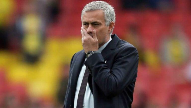 Mourinho, al borde de las lágrimas: