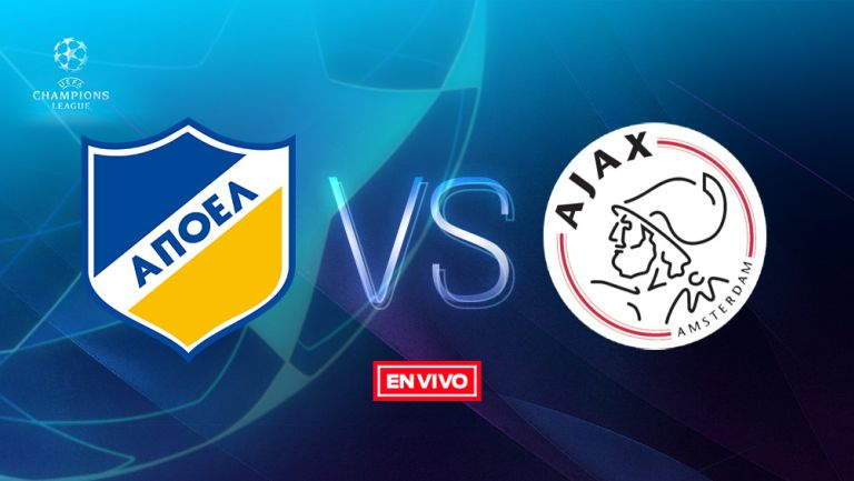 EN VIVO: APOEL vs Ajax