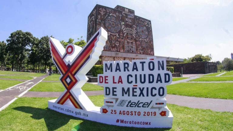 Logotipo del Maratón de la Ciudad de México 2019