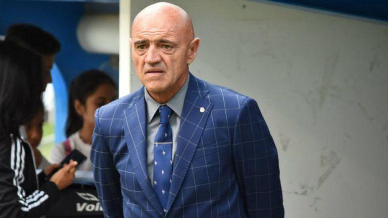 José Luis Sánchez Solá como entrenador de La Franja