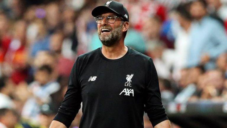 Klopp, en un partido del Liverpool
