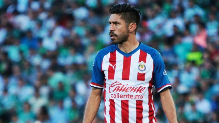 Chivas confía en que llegarán los goles de Oribe Peralta