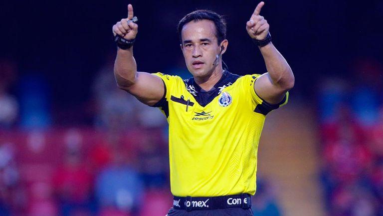 Jorge Isaac Rojas en el Veracruz vs Atlético San Luis