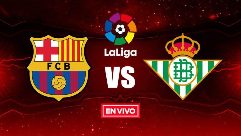 EN VIVO Y EN DIRECTO: Barcelona vs Betis