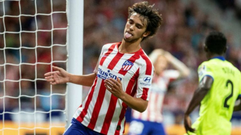 João Félix en acción con Atlético de Madrid